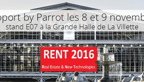 Salon RENT 2016 - Parrot Air Support