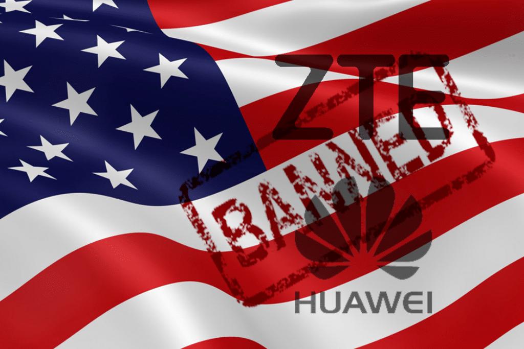 الحكومة الأمريكية ممنوعة من استخدام تكنولوجيا هواوي و ZTE
