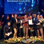 Vinnare av Kundkristallen på Benchmark Event