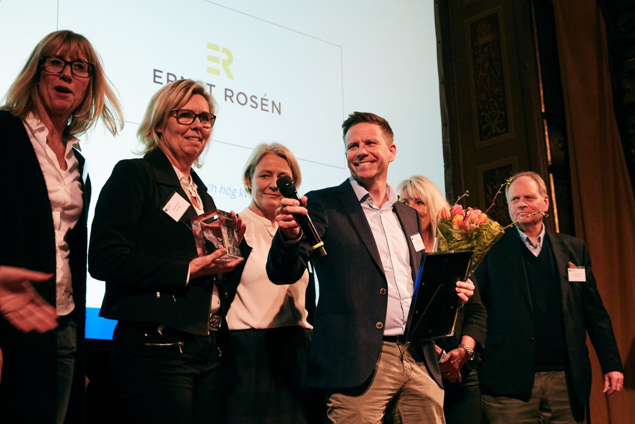 Ernst Rosen - högsta Serviceindex lokaler