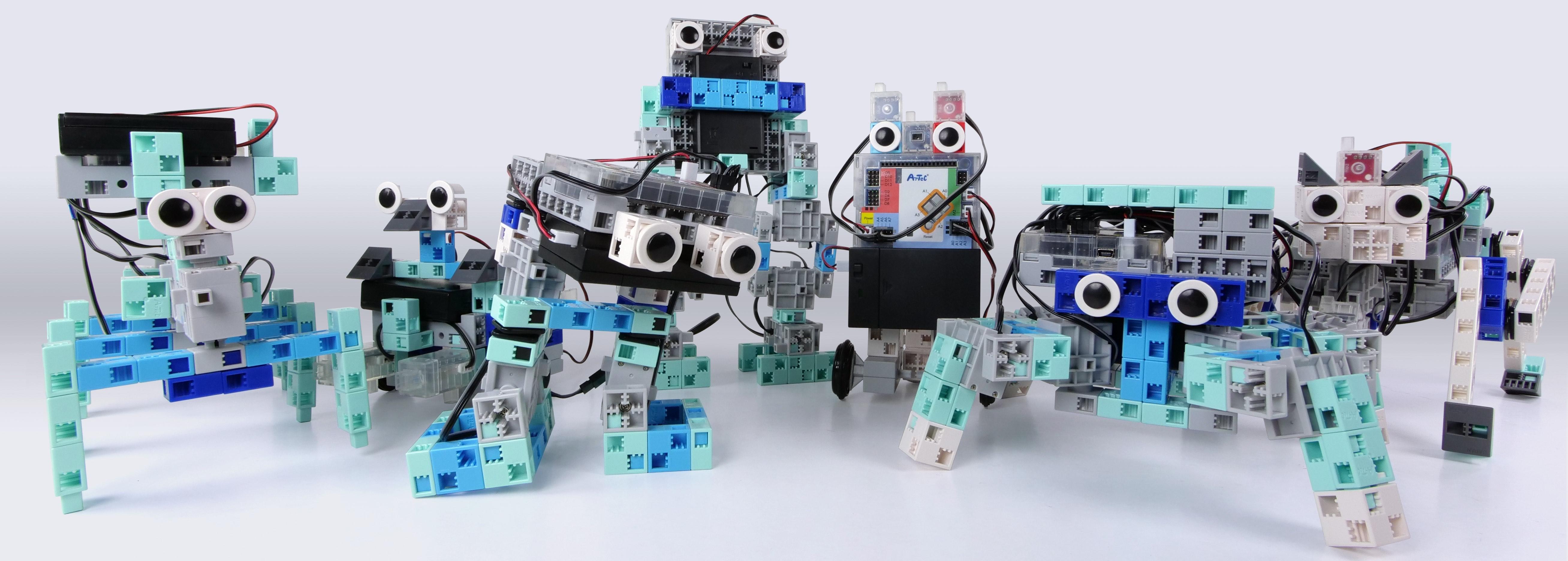 ecole de robotique algora douai - exemples de robots