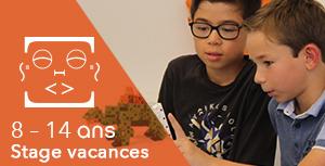 8 - 14 ans / Stage vacances : Robotic Park (Dinosaures) - enfants habitant à MONDELANGE uniquement