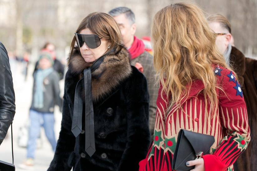 carine roitfeld fashion week