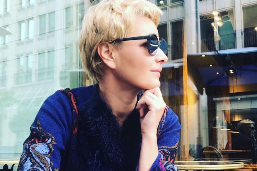 Małgorzata Kożuchowska na jesień