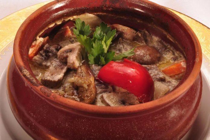 мясо в горшочках тепло домашнего очага