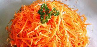 Корейский салат на зиму