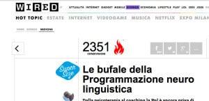 Wired Italia e PNL