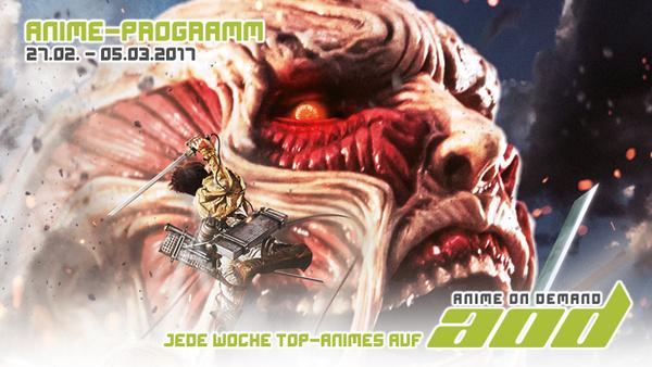 AoD-Programm vom 27. Februar bis 5. März