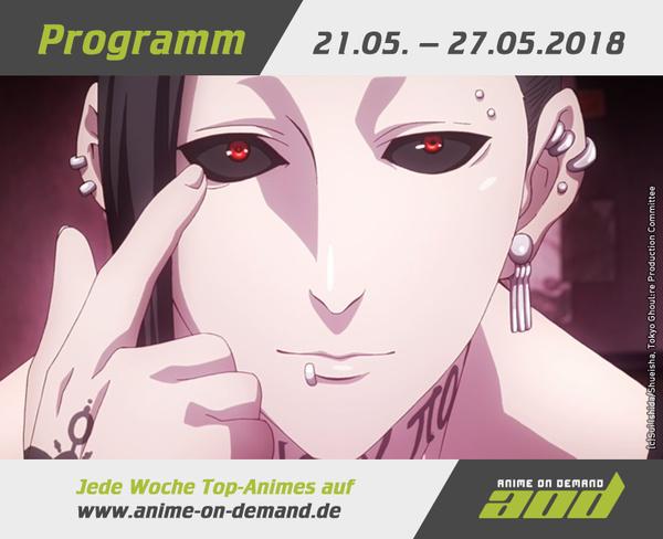 AoD-Programm vom 21. bis 27. Mai