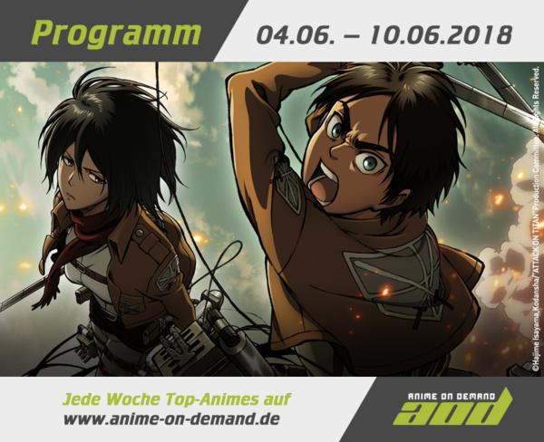 AoD-Programm vom 4. bis 10. Juni