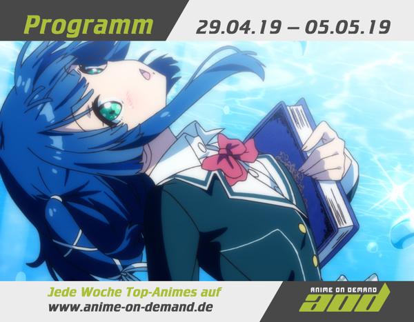 AoD-Programm vom 29. April bis 5. Mai