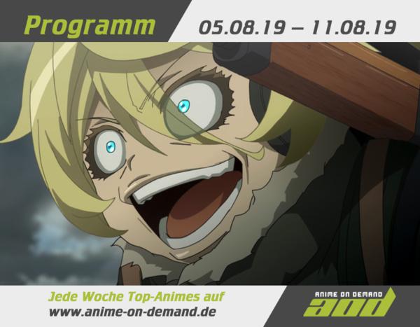 AoD-Programm vom 5. bis 11. August