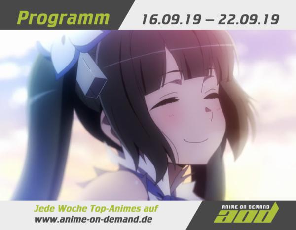 AoD-Programm vom 16. bis 22. September