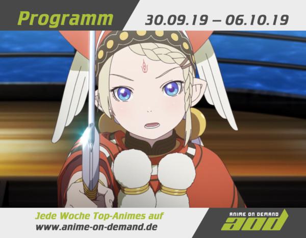 AoD-Programm vom 30. September bis 6. Oktober