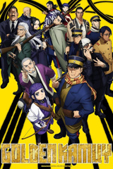 Golden Kamuy Key Art