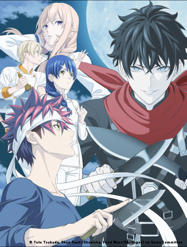 Food Wars_5_Key Art