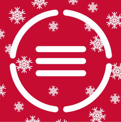 новогодняя иконка ABBYY