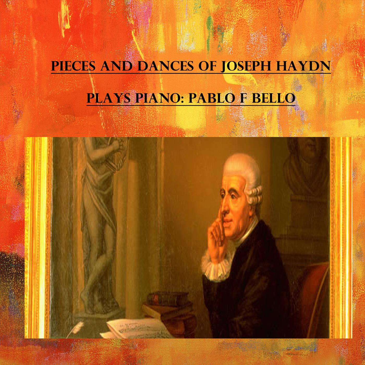 Pieces and dances Of Joseph Haydn