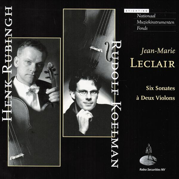 Jean-Marie Leclair - Six Sonatas for 2 Violins