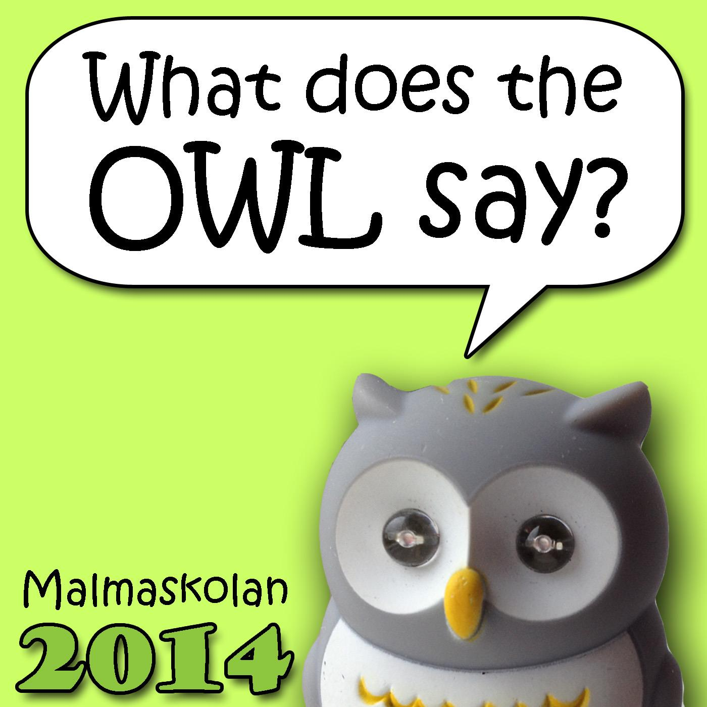 Malmaskolan 2014: What Does The Owl Say?