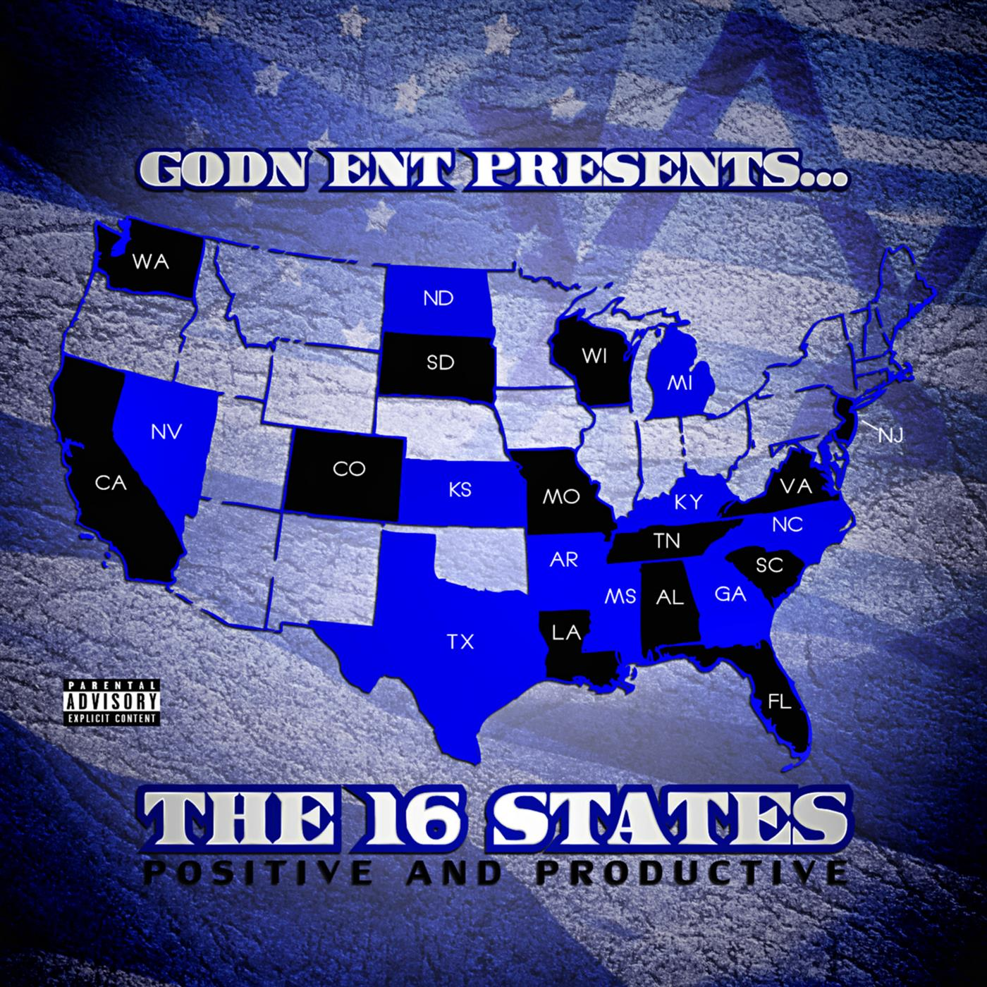 GODN Ent Presents The 16 States