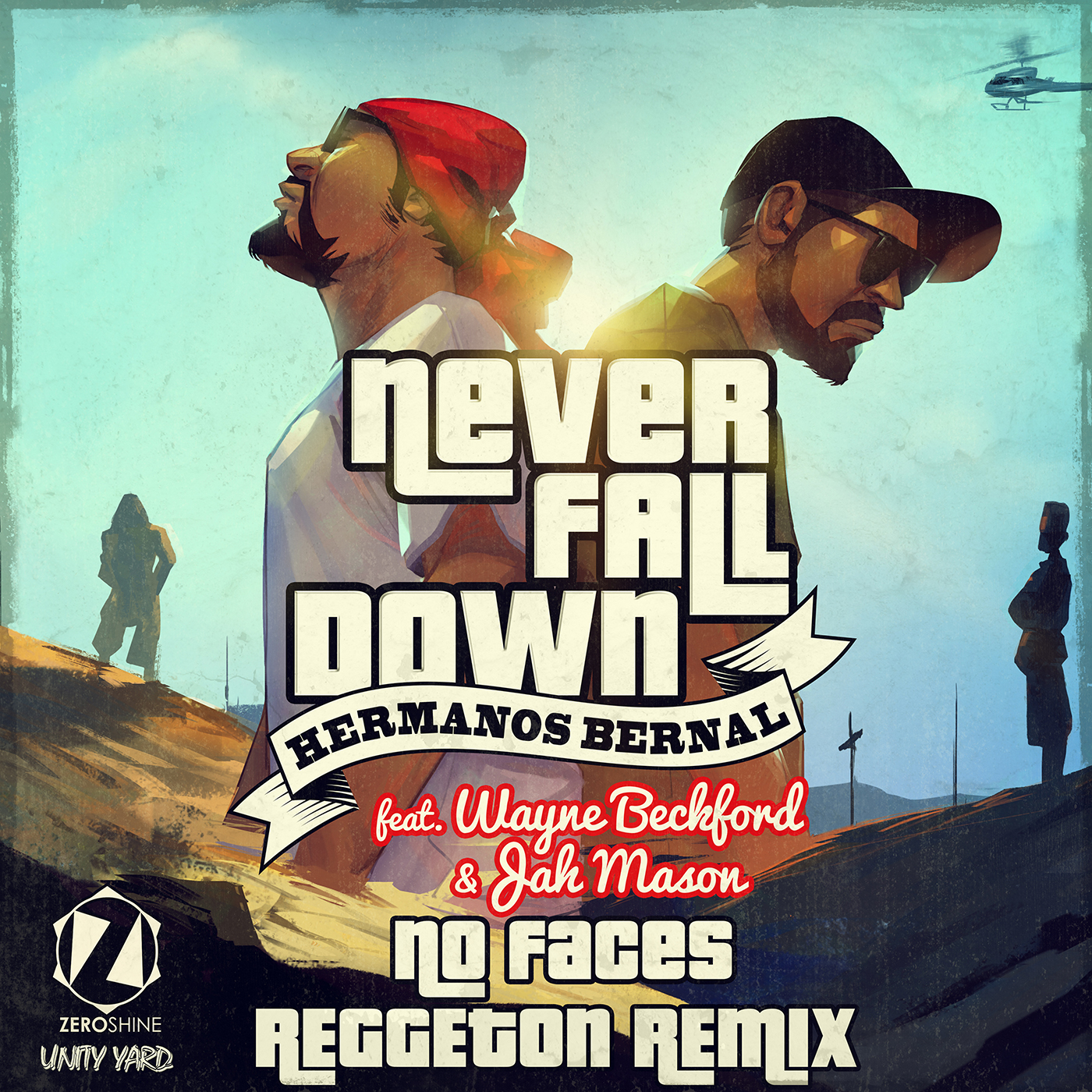Never Fall Down Reggaeton Rmx