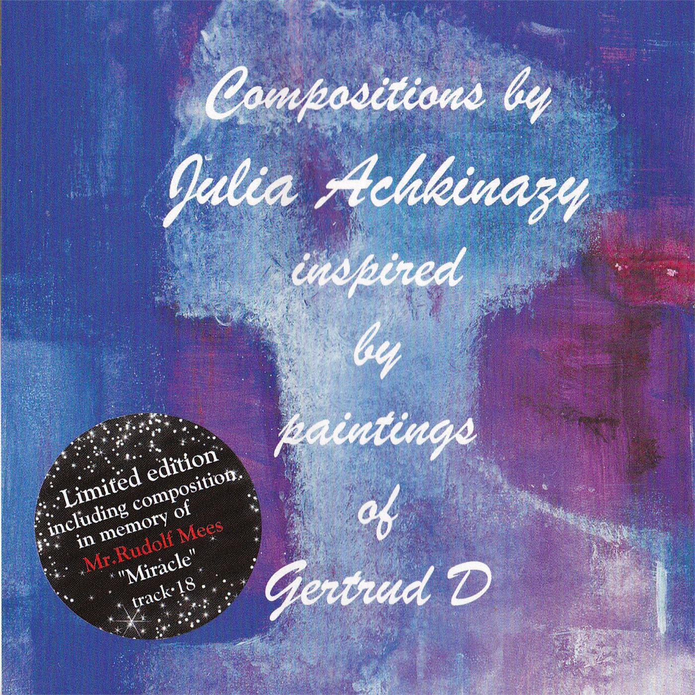 Compositions Julia Achkinazy paintings Gertrud D