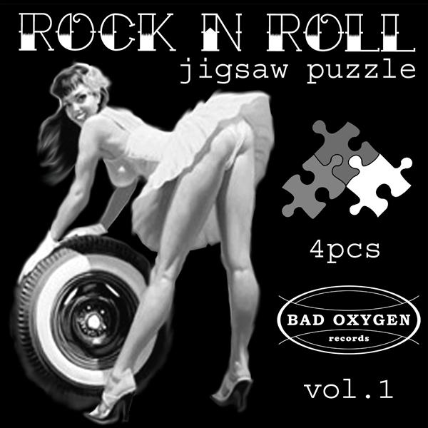 Rock'n'Roll Jigsaw Puzzle vol.1