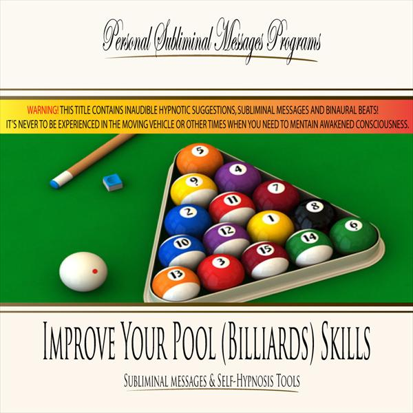Improve Your Pool (Billiards) Skills - Subliminal