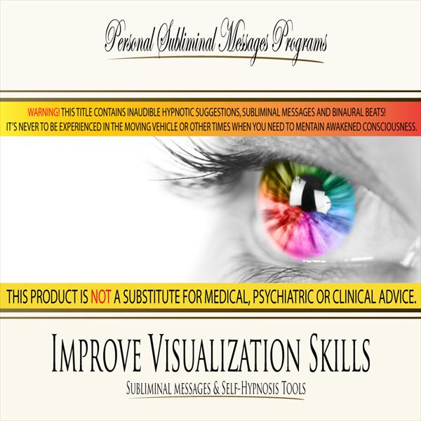 Improve Visualization Skills - Subliminal Messages