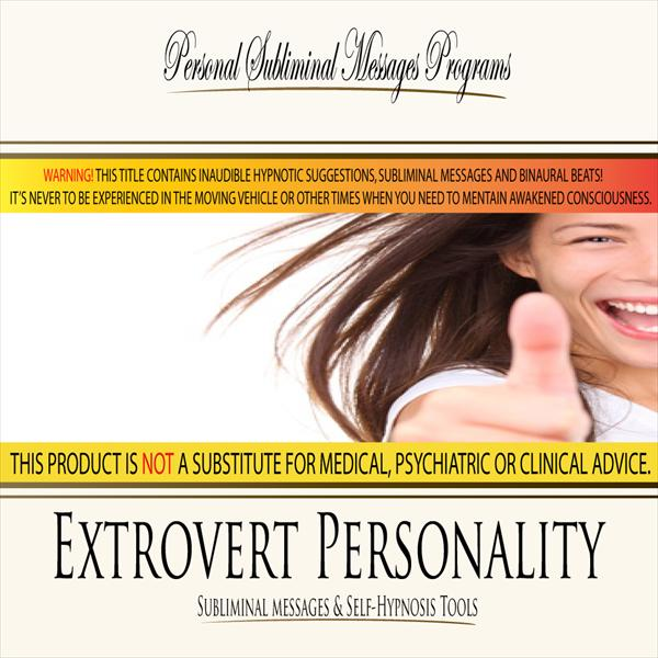 Extrovert Personality - Subliminal Messages PSMP