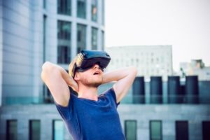 Levensecht risico's beleven met virtual reality
