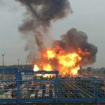 Zware explosie in BASF-fabriek