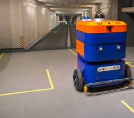 Robot SAM maakt parkeergarage veilig