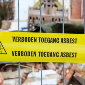 Asbest in straalmiddel, dit doet de inspectie