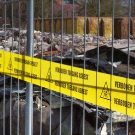 Straalgrit met asbest op 842 locaties