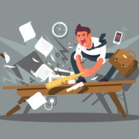 Emotie op het werk: bent u wel eens boos?
