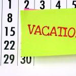 BHV in de vakantieperiode