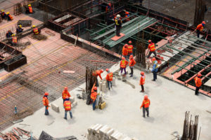 Collectief stilstaan bij ongevallen in de bouw