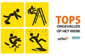 Top 5 ongevallen op het werk