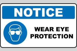 Dit zijn de aandachtspunten bij oogbescherming