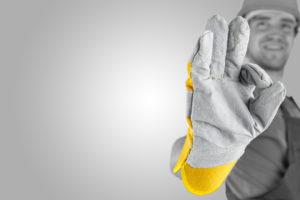 Houd uw handen heel met handbescherming