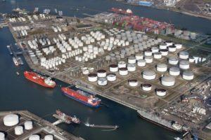 Havenbedrijf gaat schade vervuilde oevers verhalen op Odfjell