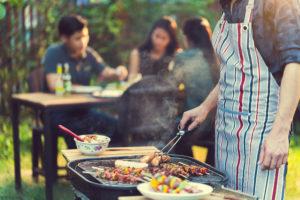Barbecuerook en PAK's