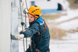 Houvast bij de RI&E voor werken op hoogte