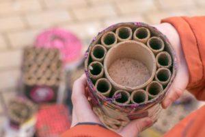 Vuurwerk of najaarsexplosieven