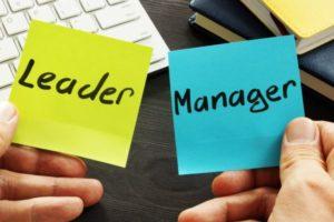 Leiderschap is niet hetzelfde als management