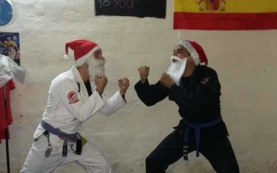 Santa Claus vs Santa claus – BJJ Superfight Video