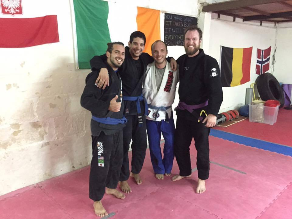 Instructors of Arete Brazilian Jiu-Jitsu Malta