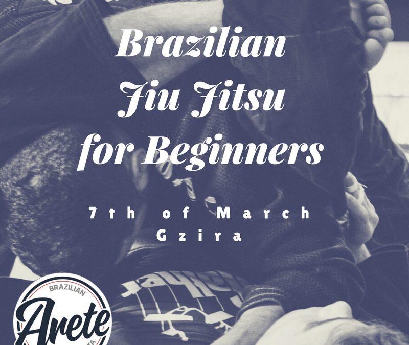 Brazilian Jiu Jitsu for Beginners Starting on 7th of March